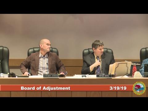 Board of Adjustment 3.19.2019