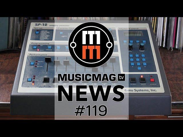MUSICMAG TV NEWS #119: Softube Parallels, возвращение SP1200, голосовой MIDI-контроллер и др.