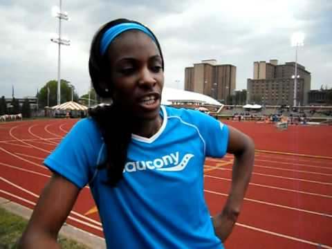 Interview: Dee Dee Trotter- Sea Ray Relays 2011.AVI