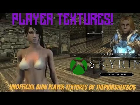 Skyrim SE Xbox One Mods|Unofficial Bijin Player Textures