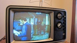 """1978 RCA XL-100 13"""" Color TV (# EC 330 B)"""