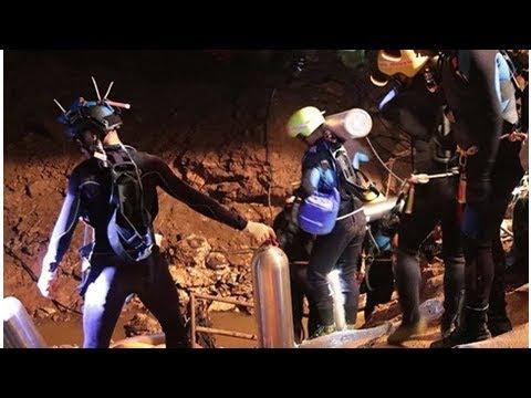 Inicia rescate de niños atrapados en cueva de Tailandia
