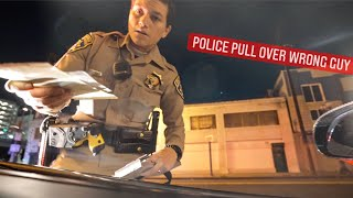 CALIFORNIA POLICE PULLS OVER WRONG SUPERCAR OWNER ... *CONFRONTATIONAL*