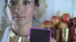 Greek Goddess Makeup Hair Costume Toga  Halloween Tutorial- How To