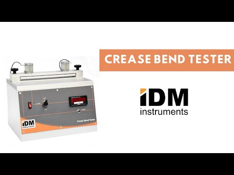 Crease Bend Tester