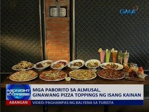 [GMA]  Saksi: Mga paborito sa almusal, ginawang pizza toppings ng isang kainan