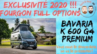Présentation Fourgon Neuf Avec Cyril Et Hedi De Camping-car 69: BAVARIA K 600 G4 2020