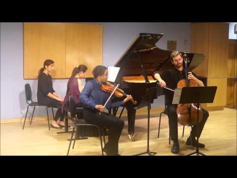 Mendelssohn Piano Trio in D minor, Op.49 4th mvt-Finale. Allegro assai appassionato...