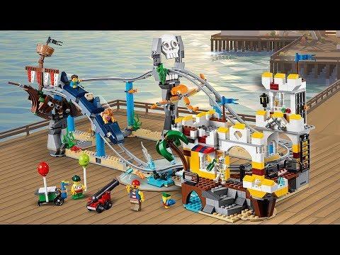 Конструктор LELE MY WORLD «Атракцион Пиратские горки» 33222 (Аналог Lego Creator 31084) 956 деталей