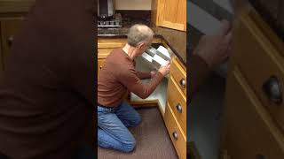 How to Install a Lazy Susan into a base cabinet onsite