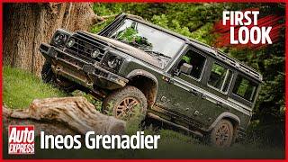 NOVO Ineos Grenadier primeiro olhar em profundidade: interior, tecnologia e recursos