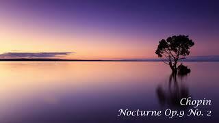 [ 3h Repeat ] 쇼팽(Chopin) _ 녹턴 2번 (Nocturne op.9 No.2 ) ㅣ독서ㅣ휴식ㅣ학습ㅣ사색ㅣ백색소음