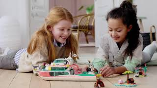 Lego friends boat toys r us