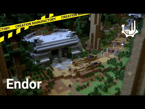 Weihnachtskalender Minecraft.Endor A Timolia Jump And Run Map By Creation Manufactory Minecraft