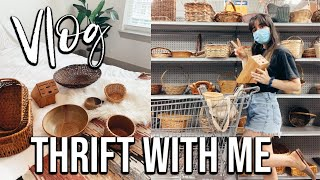 THRIFT WITH ME | Vlog Style | Bohemian Home Decor Haul