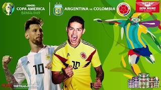 [TRỰC TIẾP] Argentina Vs Colombia (5h00 Ngày 16/6), Copa America 2019. Trực Tiếp K+PM, FPT Play