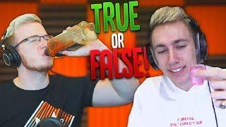 DRUNK TRUE OR FALSE W/ MINIMINTER!!