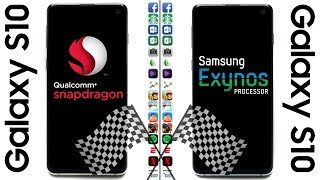 Samsung Galaxy S10 (Snapdragon) vs Samsung Galaxy S10 (Exynos) Speed Test