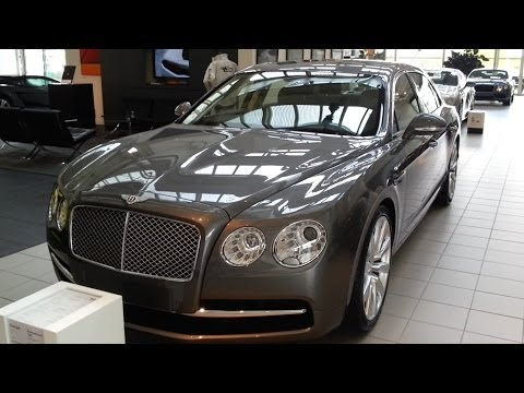 Bentley Flying Spur 2015 In Depth Review Interior Exterior