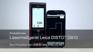 Review: Aufmaß im Raum mit Leica Disto D810 und CATSmobil 3D
