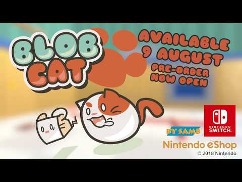 BlobCat for Nintendo Switch - Release Date Trailer thumbnail