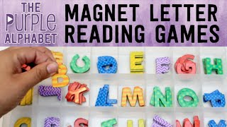 Learning to Read with Moveable Alphabet - Montessori Inspired