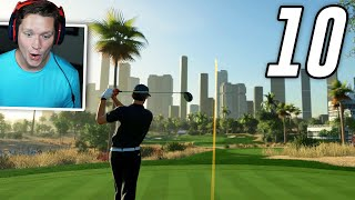 PGA Tour 2K21 Career - Part 10 - Playing Golf in Dubai!