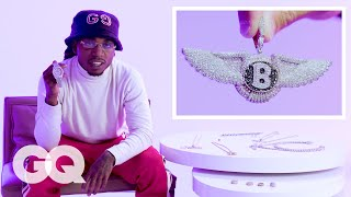 Jacquees Shows Off His Insane Jewelry Collection | GQ