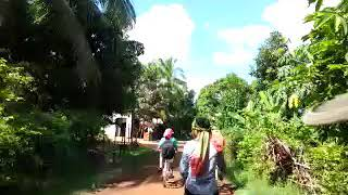 preview picture of video 'Trip to Dong village by bicycles'