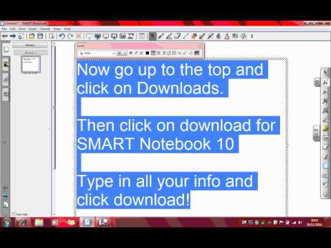 SMART Notebook 10 and Extras for FREE! - Youtube Download