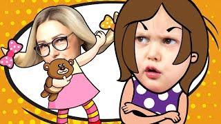 ПОМЕНЯЛИСЬ ТЕЛАМИ Амелька теперь Мама А Мама Ребенок Раздвоилась Маленькая Ведьмачка Kids Video