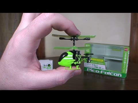 Silverlit – Pico Falcon (2015 World's Smallest RC Helicopter) – Review and Flight