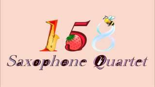 スタジオジブリメドレーサックス四重奏158SaxophoneQuarutet