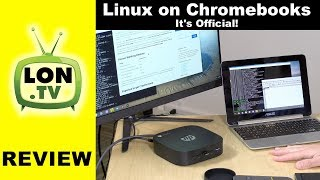Official Chromebook Linux Support is here! Crostini Running on ARM and Intel