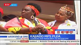 Jubilee MPs camp in Kajiado rallying support for President Kenyatta's re-election