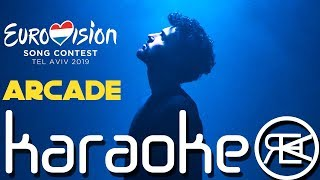 Duncan Laurence   Arcade | Karaoke, Instrumental With Lyrics (Eurovision 2019 Netherlands)