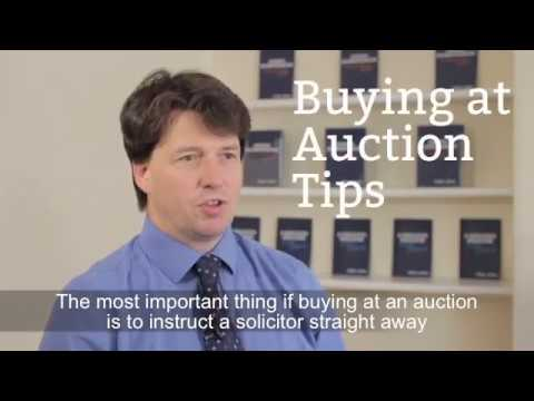 Tips for buying at auction
