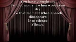 Phantom Of The Opera - Point Of No Return Lyrics
