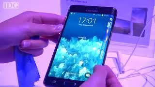 IFA 2014 - Samsung stellt Galaxy Note Edge mit Display um die Ecke vor