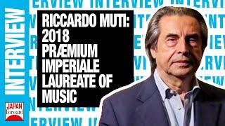 Praemium Imperiale autasu Riccardo Mutile