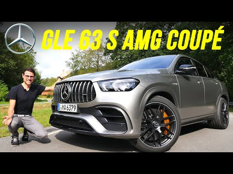 Mercedes GLE 63 S AMG Coupé REVIEW with German Autobahn 🏁