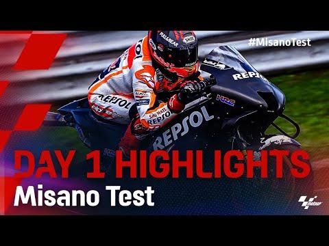 MotoGP 2021 ミサノテスト Day1ハイライト動画