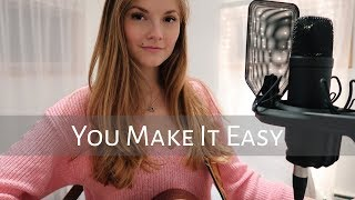 You Make It Easy (Jason Aldean) Acoustic Cover By Samantha Taylor