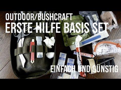 Outdoor/Bushcraft-Erste Hilfe Basis Set - einfach und günstig! Teil 1