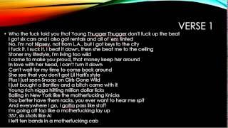 Young Thug - Danny Glover Lyrics