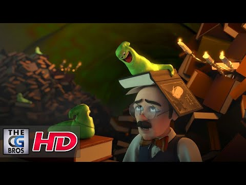 "CGI 3D Animated Short: ""Bookworm"" – by Richard Wiley"