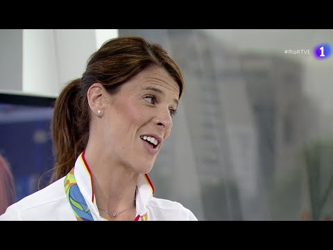 RUTH BEITIA se convierte en la primera atleta española en ganar el Oro en unos Juegos
