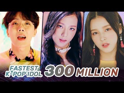 [TOP 20] FASTEST KPOP GROUPS MUSIC VIDEOS TO REACH 300M VIEWS
