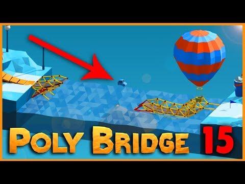 PŘESKOČÍ TO? | Poly Bridge #15 | Pedro