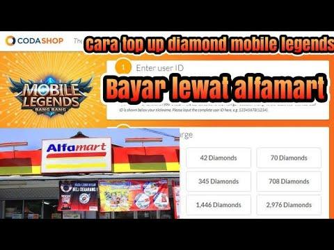 CARA TOP UP DIAMOND MOBILE LEGENDS DI CODASHOP DAN BAYAR LEWAT ALFAMART